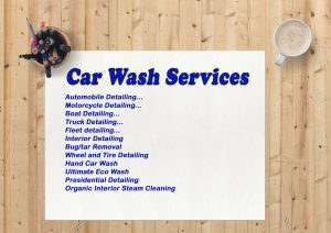 Car Wash Menu: The Pros and Cons of Having One
