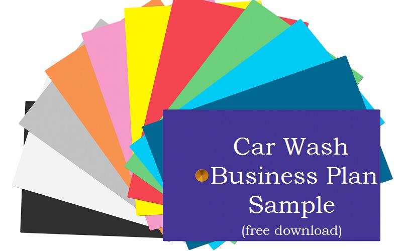 DetailXPerts' Car Wash Business Plan Sample Free Download
