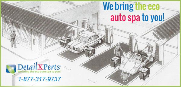 Model A Free Standing Auto Detail Shop
