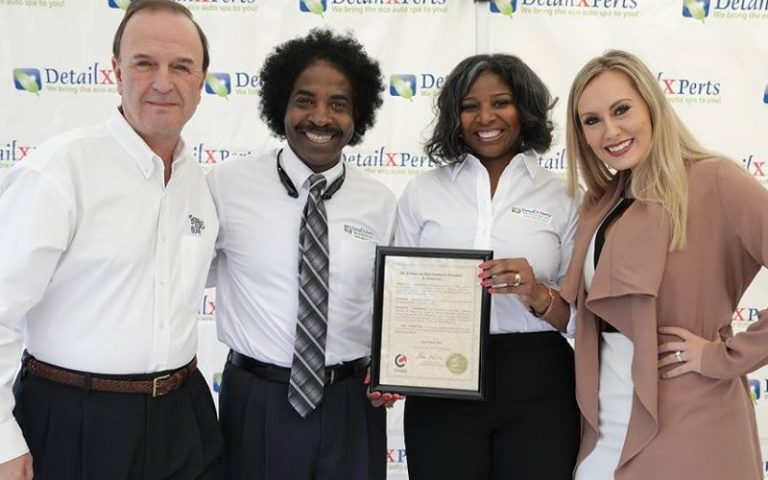A. and E. Williams_DetailXPerts Receives Business Award