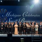 DetailXPerts on Stage at the Michigan Celebrates Small Business Awards Gala
