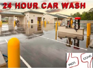 Merits and Demerits of a 24hours car wash