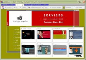 Detailing website setup