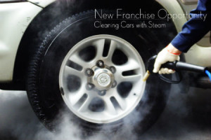 New franchise opportunities - cleaning cars with steam